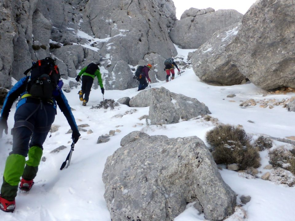 Ascensiones Invernales